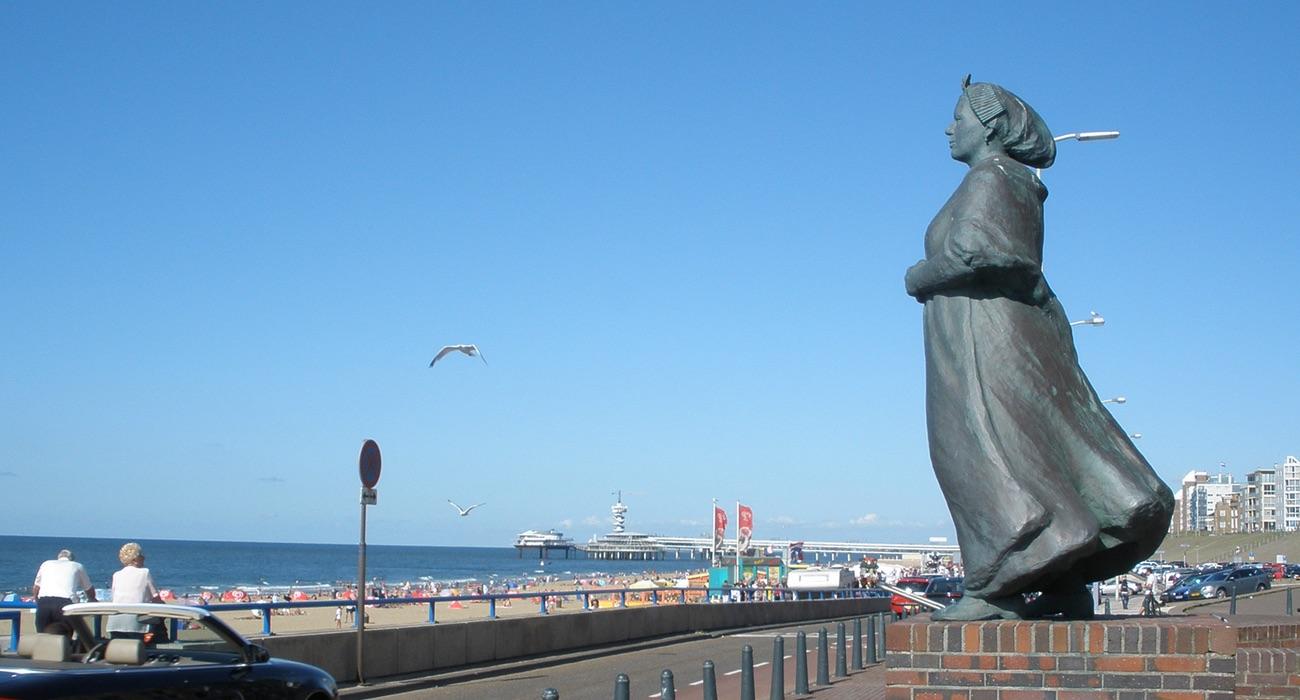 vissersvrouw Scheveningen