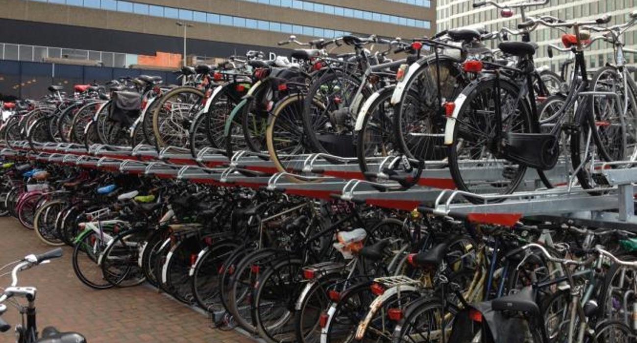 fietsparkeren bij station