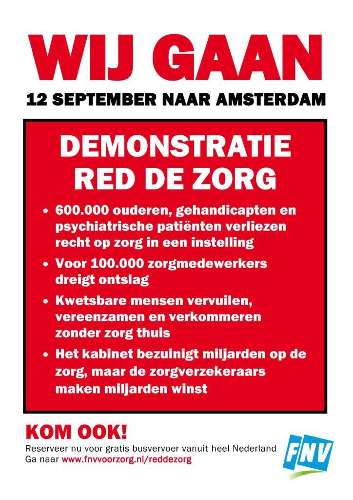 poster Red de Zorg