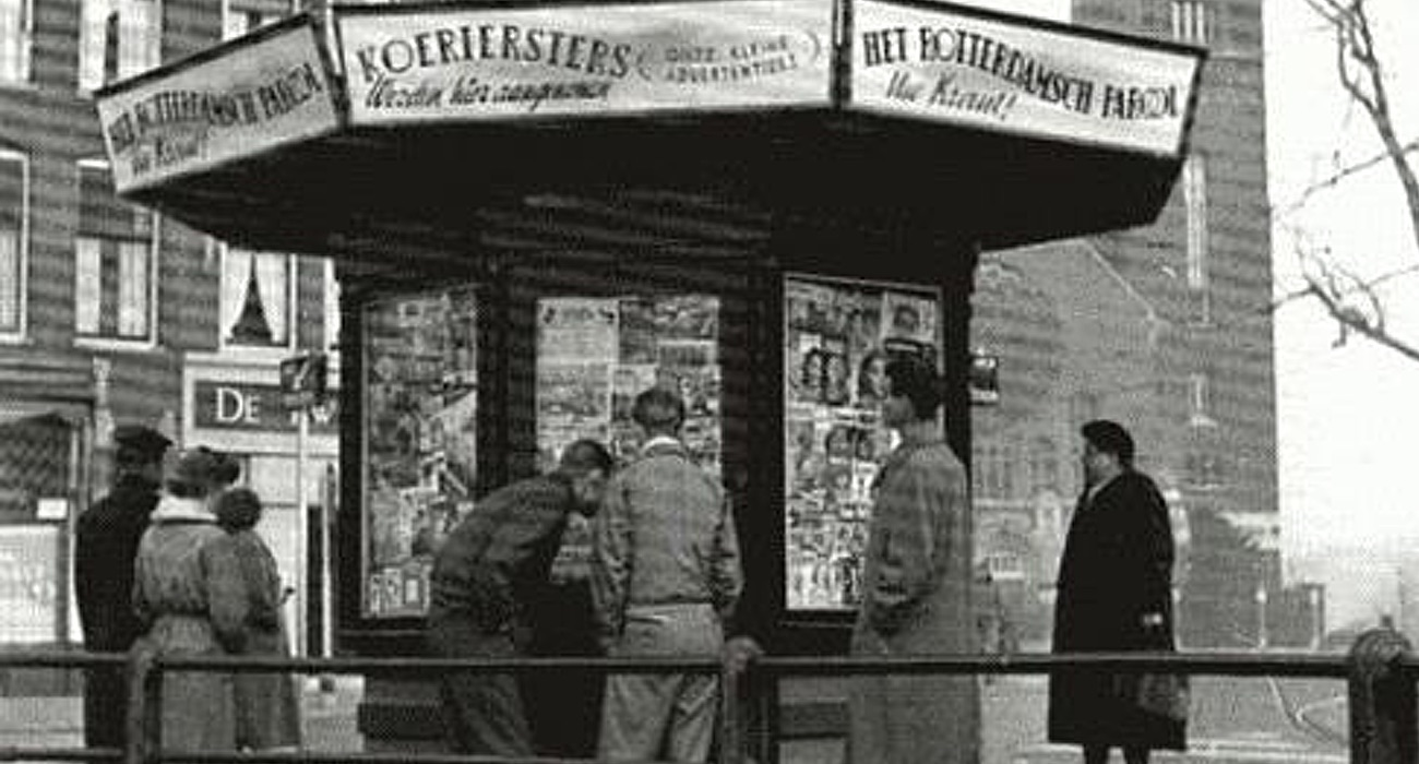 oude kiosk