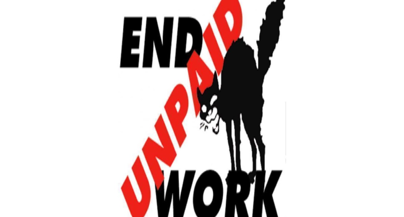 end unpaid work
