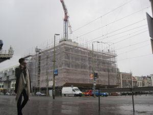 Renovatie van het belastingkantoor bij Hollands Spoor na jarenlange leegstand