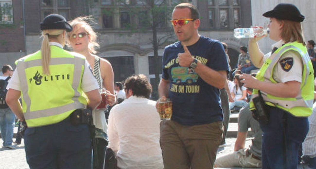 Biertje op straat