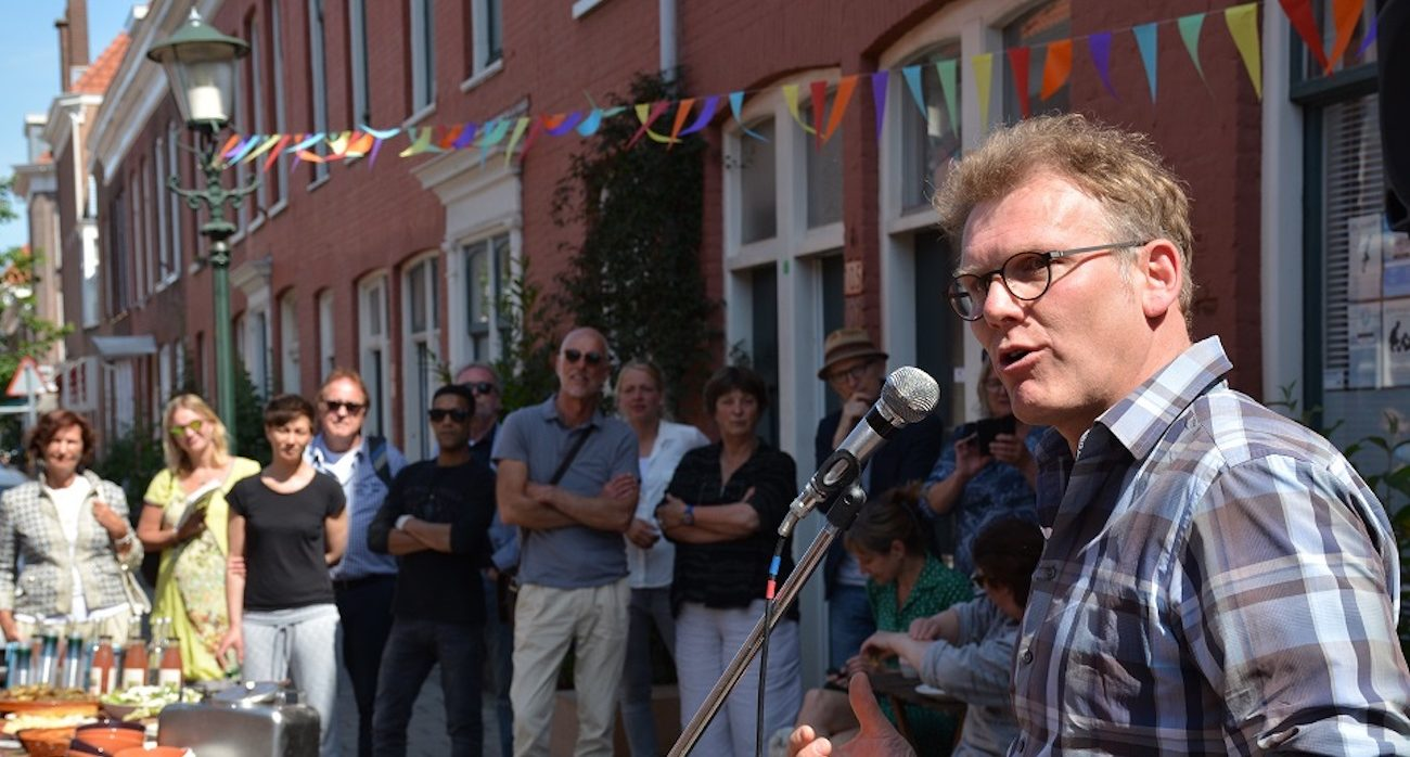 Opening Roggeveenstraat