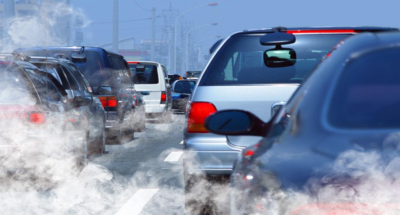 luchtvervuiling door auto's