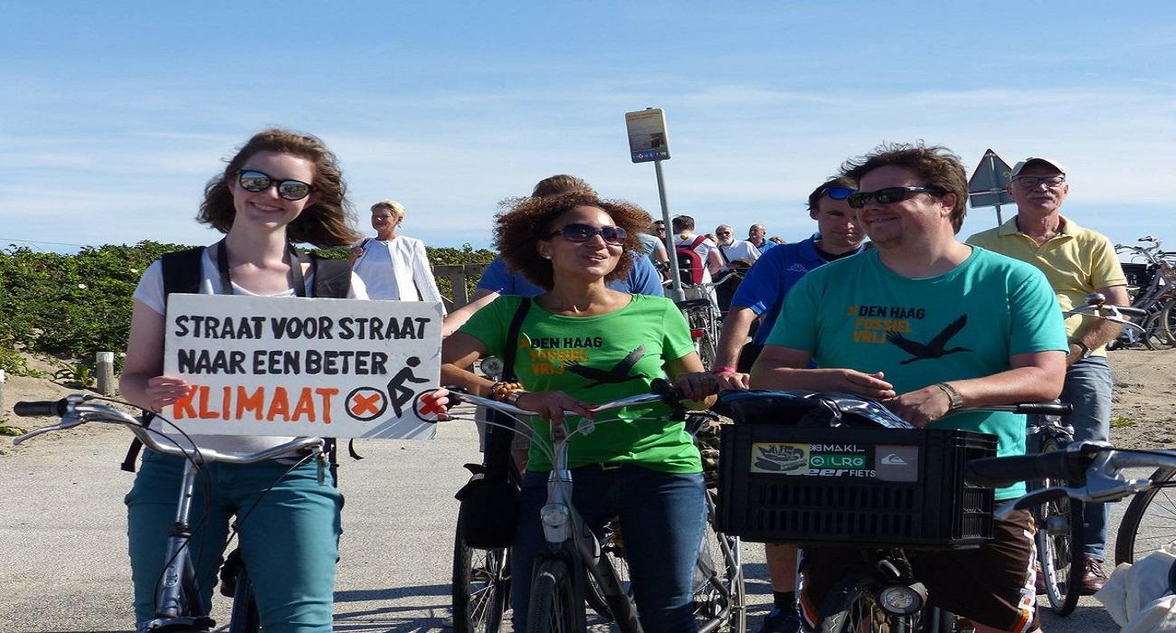 fietsen voor klimaat
