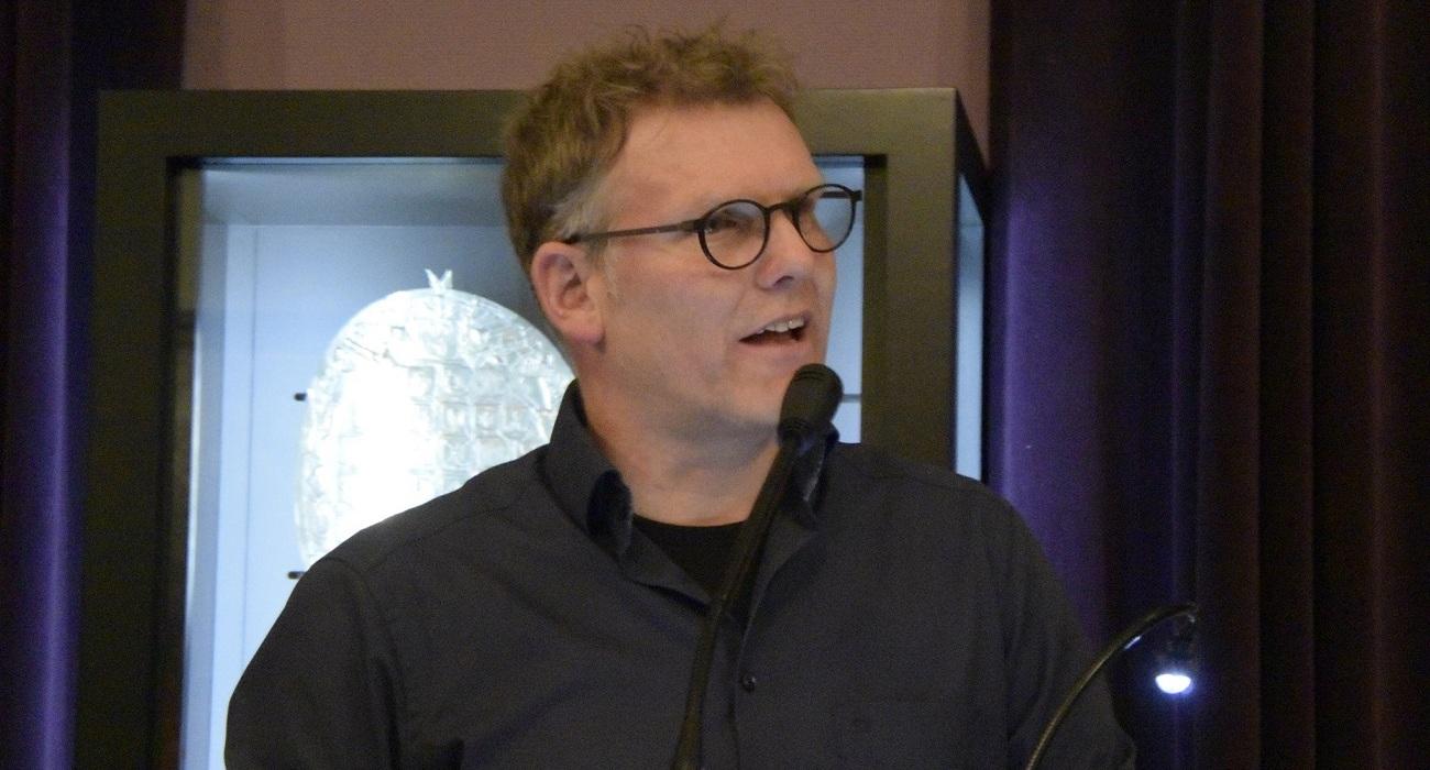 Joris Wijsmuller tijdens HofvijverLezing