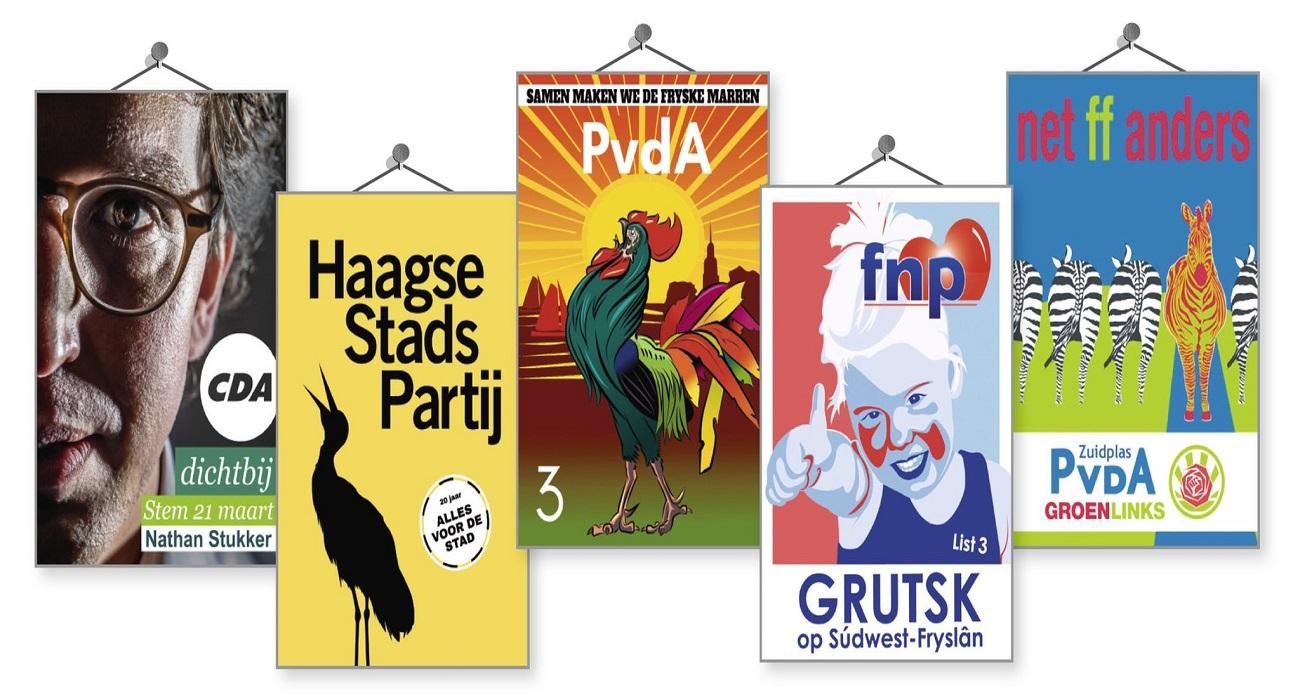 genomineerde affiches